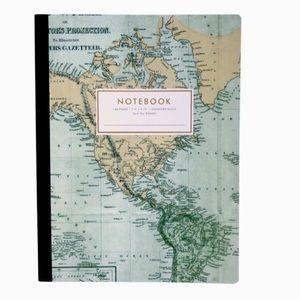 Fringe Studio Notebook Journal NWT World Map Theme